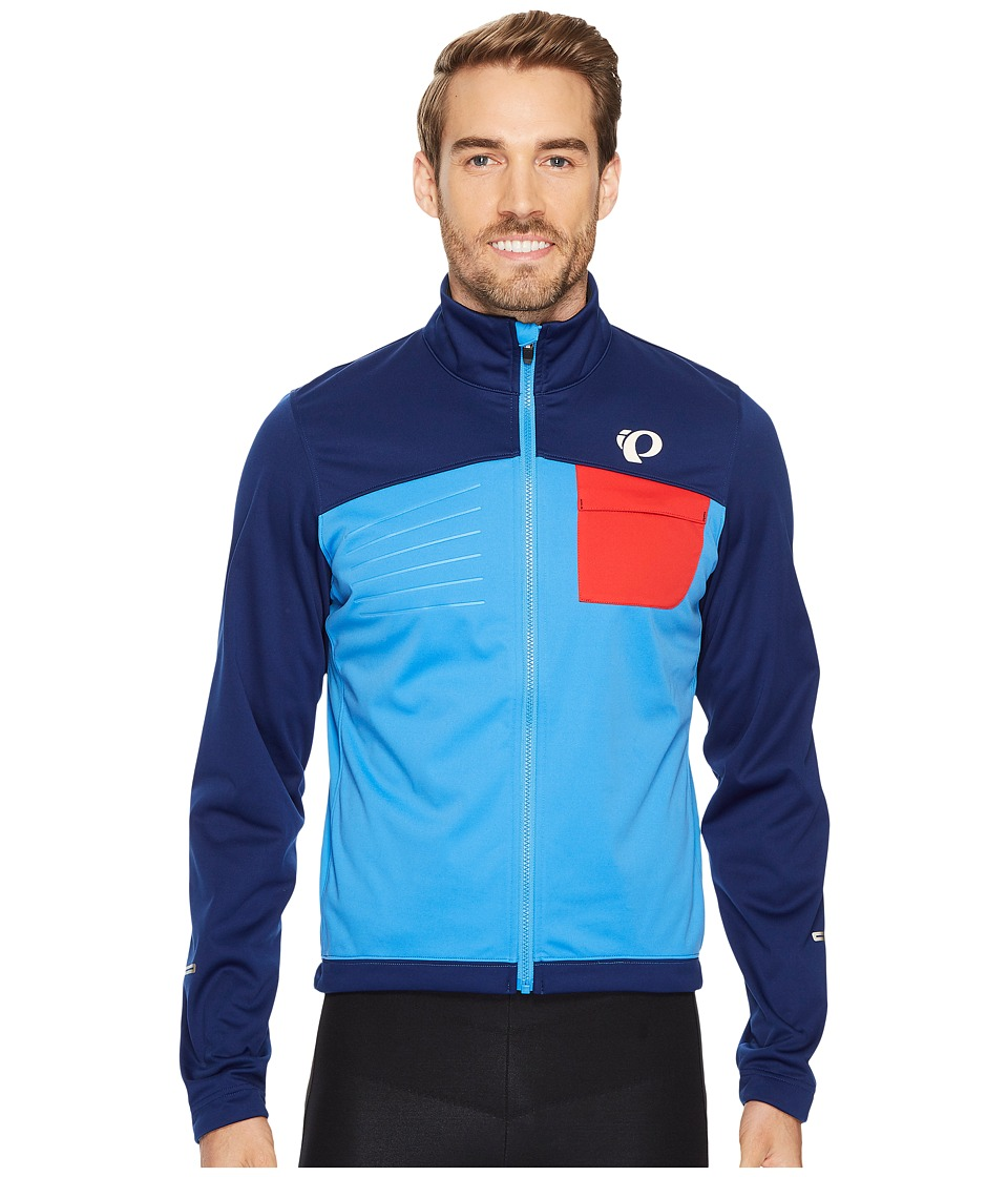 Pearl Izumi - Select Escape Softshell Jacket (Blue X2) Men's Coat