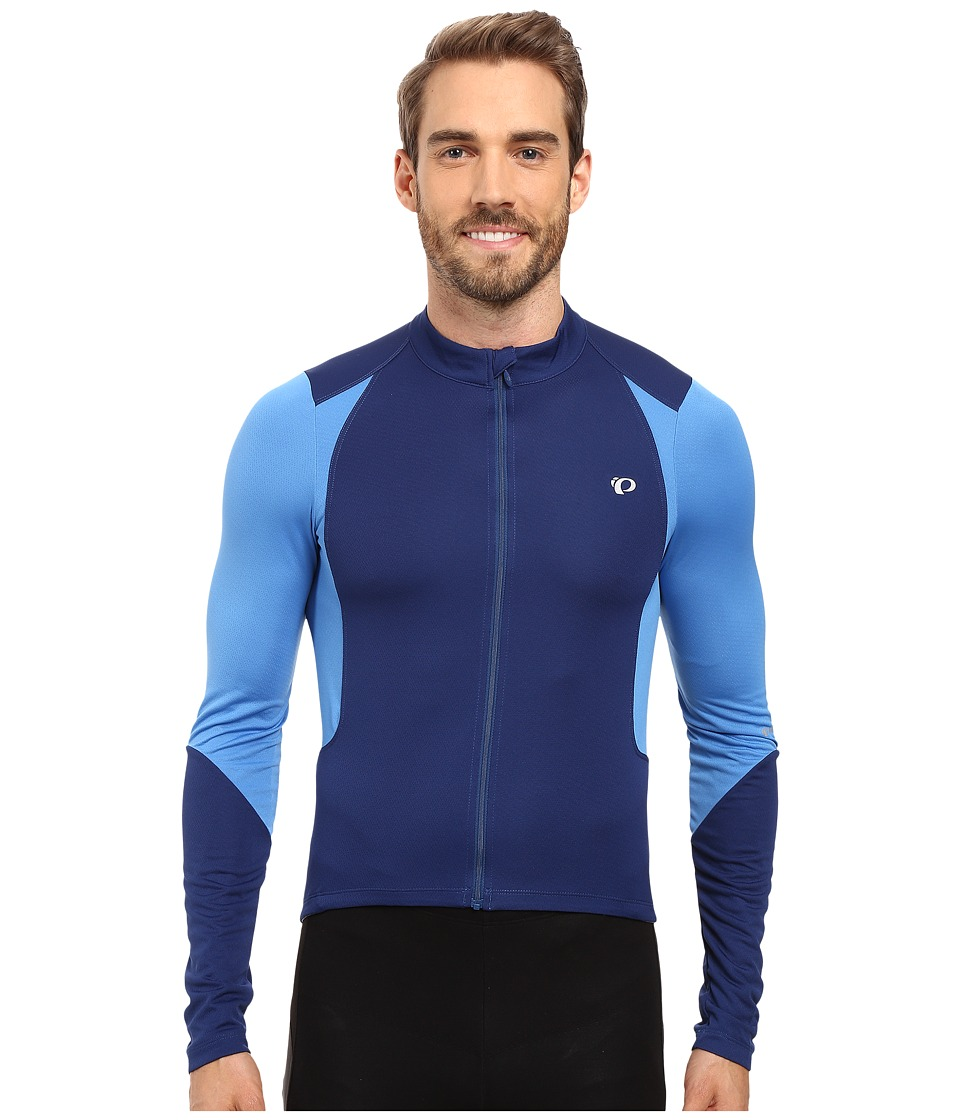 Pearl Izumi - Select Pursuit Long Sleeve Jersey (Blue X2) Men's Clothing