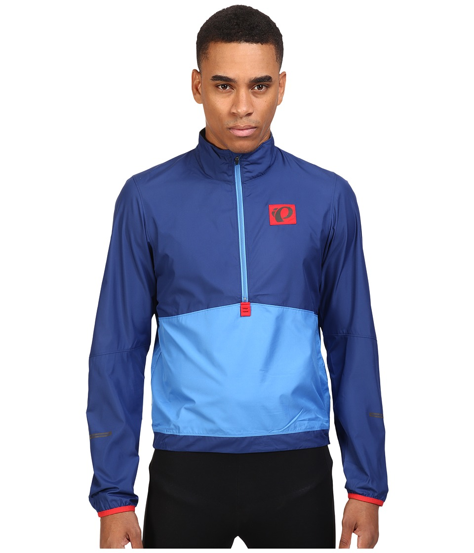 Pearl Izumi - Select Barrier Pullover (Blue X2) Men's Clothing