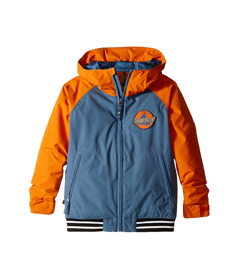 Burton Kids - Game Day Jacket (Little Kids/Big Kids) (Washed Blue/Maui Sunset) Boy's Coat