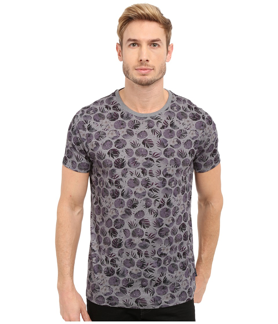 Ted Baker - Eeyore Spot All Over Printed T-Shirt (Purple) Men's T Shirt