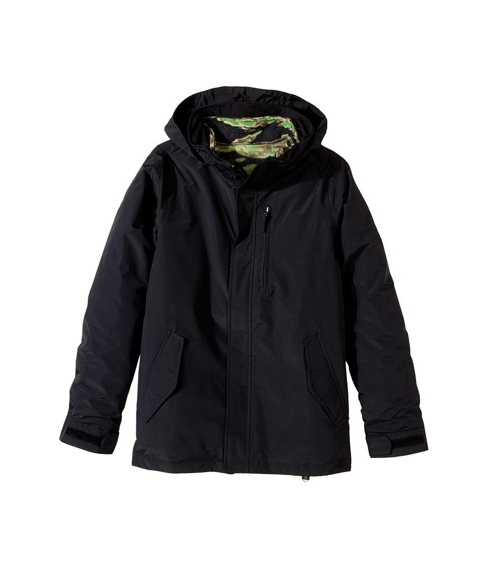 Burton Kids - Link System Jacket (Little Kids/Big Kids) (True Black) Boy's Coat