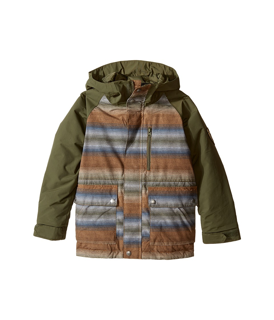 Burton Kids - Phase Jacket (Little Kids/Big Kids) (Beaver Tail Beach Stripe/Keef) Boy's Coat