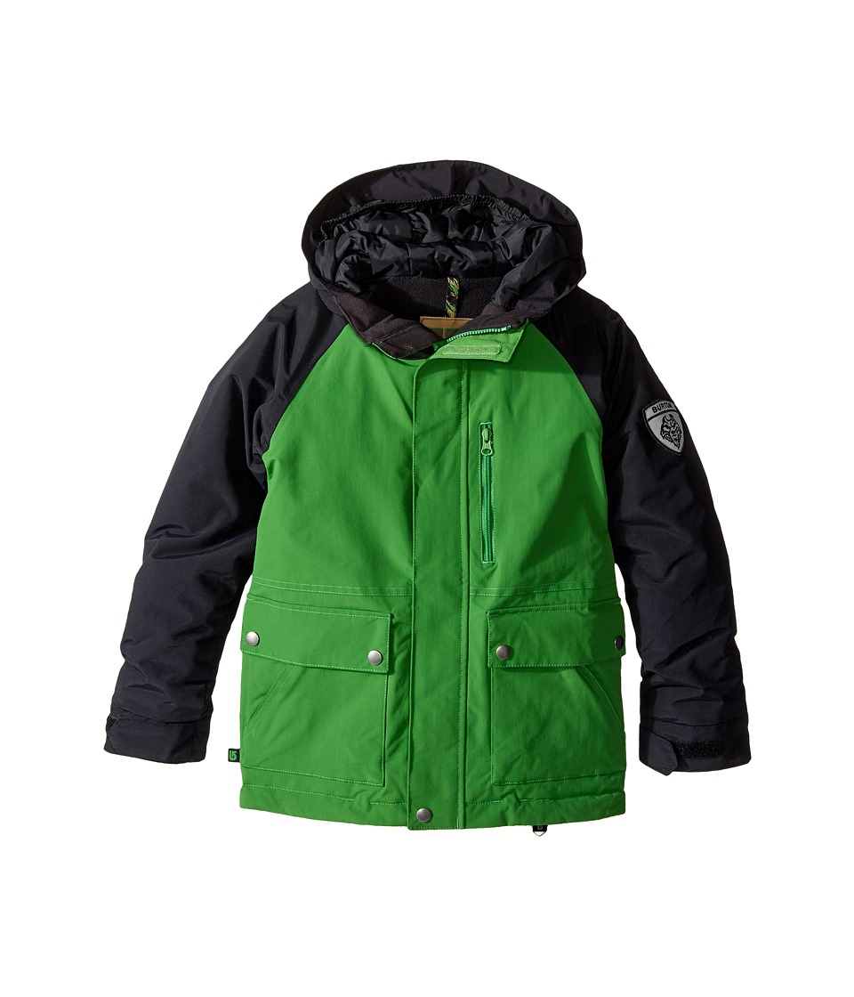 Burton Kids - Phase Jacket (Little Kids/Big Kids) (Slime/True Black) Boy's Coat