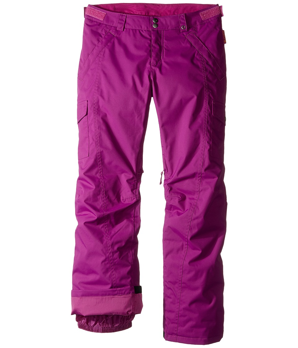 Burton Kids - Cargo Elite Pant (Little Kids/Big Kids) (Grapeseed) Girl's Clothing