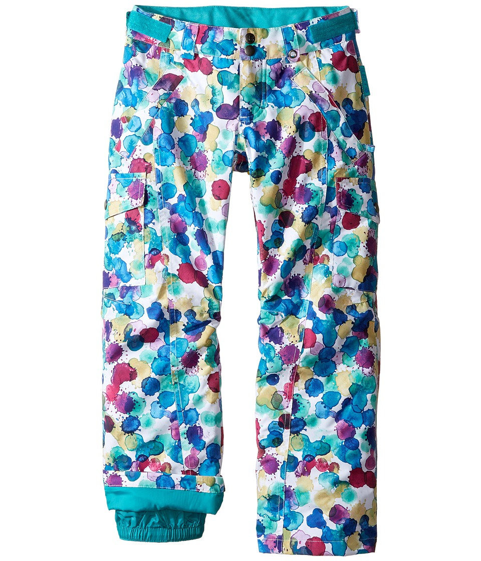 Burton Kids - Cargo Elite Pant (Little Kids/Big Kids) (Rainbow Drops) Girl's Clothing