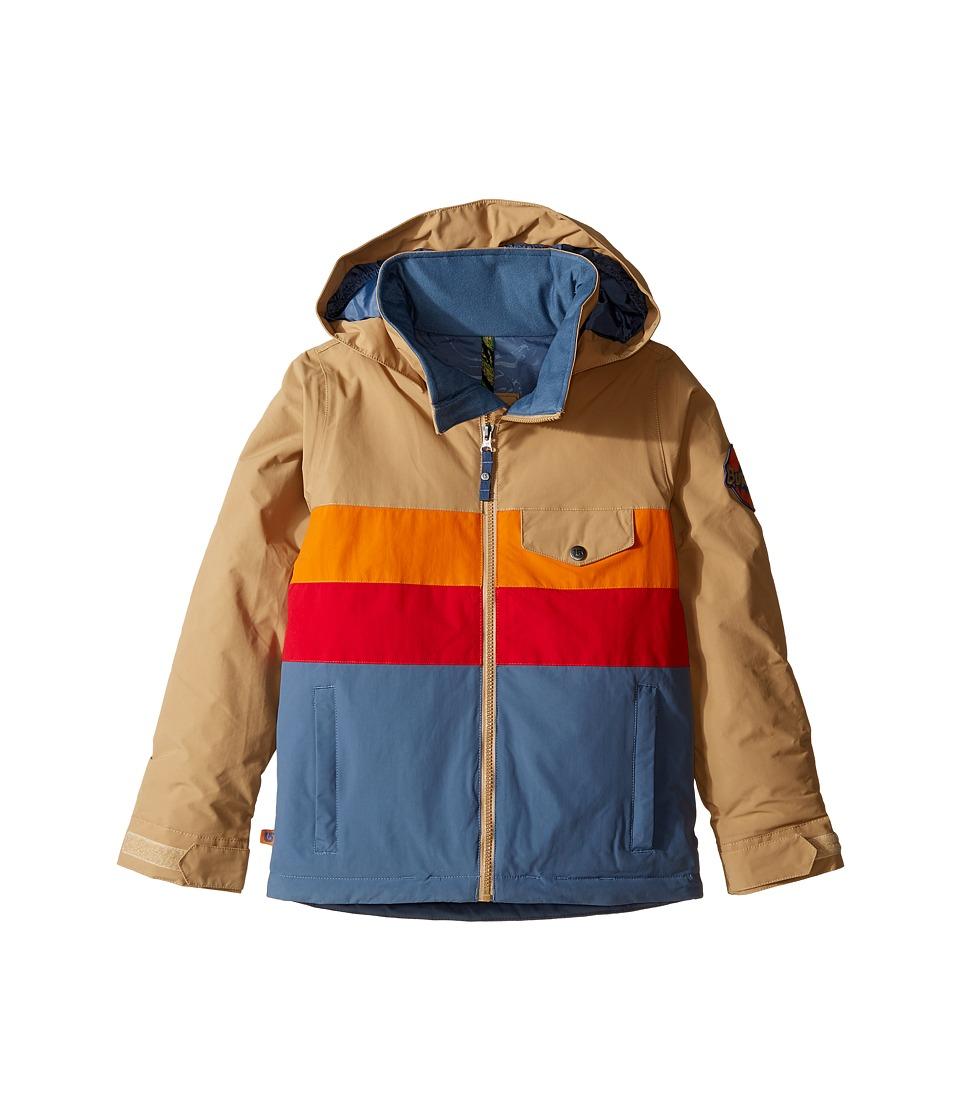 Burton Kids - Boys Symbol Jacket (Little Kids/Big Kids) (Kelp Block) Boy's Coat