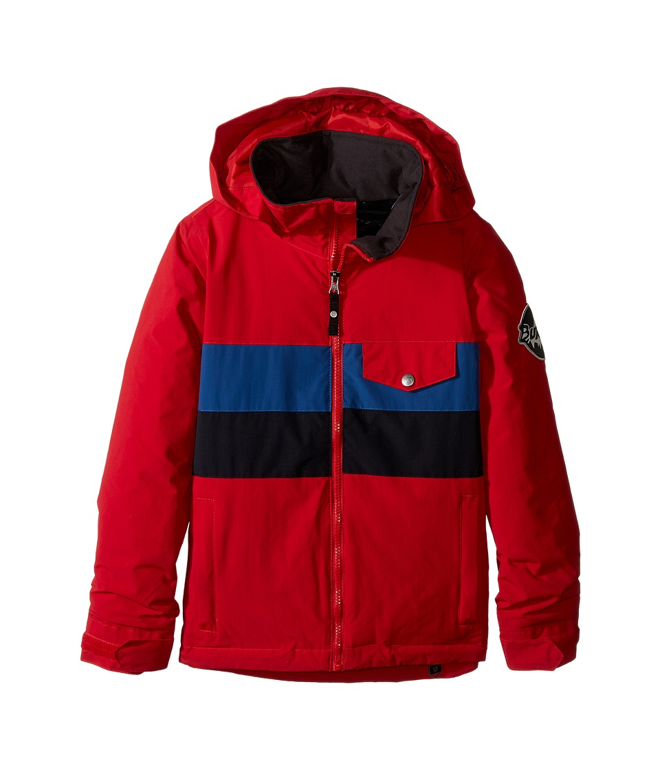 Burton Kids - Boys Symbol Jacket (Little Kids/Big Kids) (Process Red Block) Boy's Coat