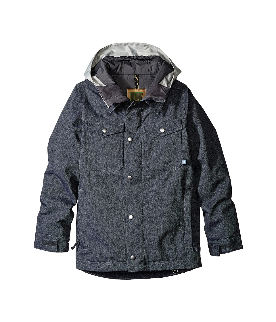 Burton Kids - Boys Uproar Jacket (Little Kids/Big Kids) (Denim) Boy's Coat