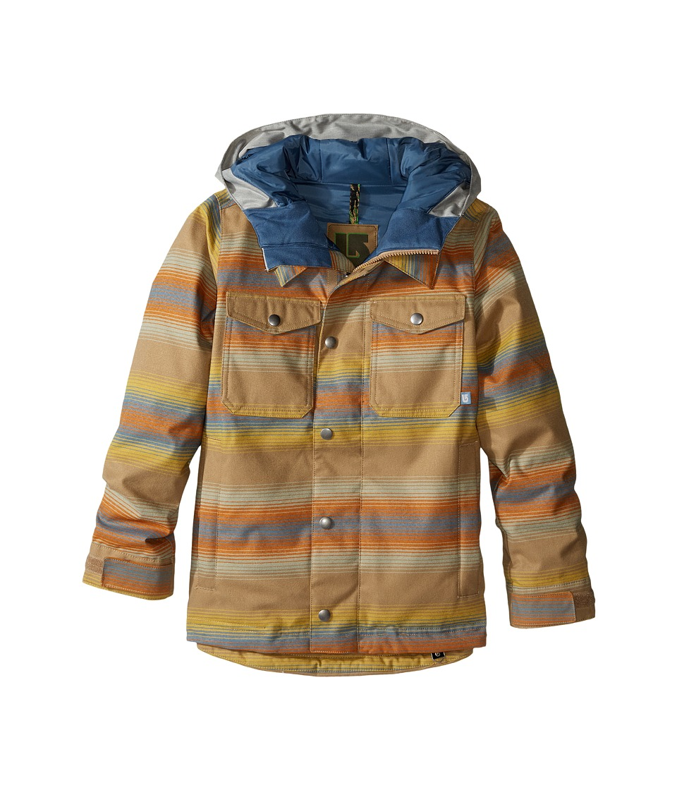 Burton Kids - Boys Uproar Jacket (Little Kids/Big Kids) (Beach Stripe) Boy's Coat