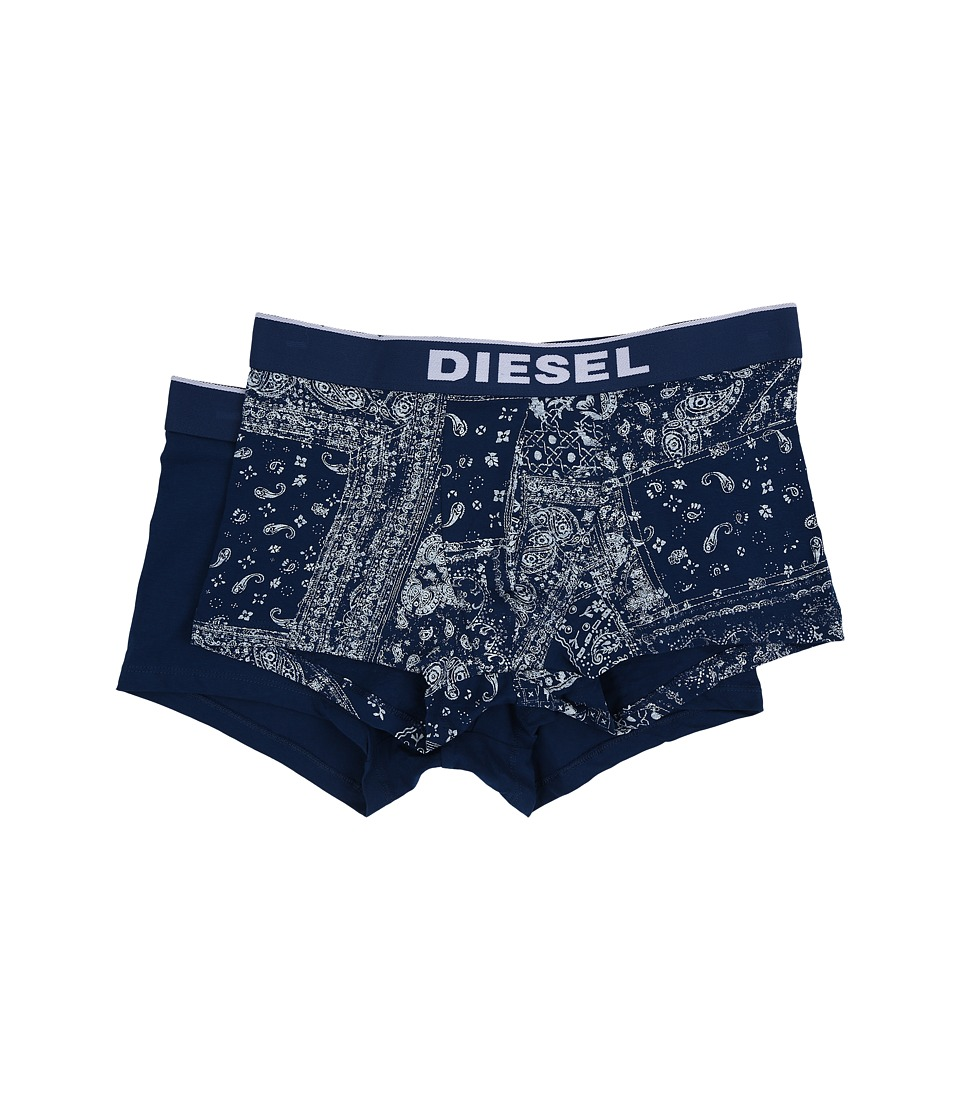Diesel - Shawn 2-Pack Boxer JALJ (Blue) Men's Underwear