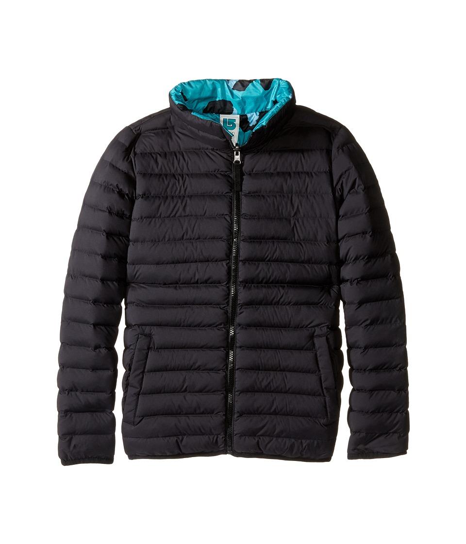 Burton Kids - Flex Puffy Jacket (Little Kids/Big Kids) (True Black/Everglade Super Leopard) Boy's Coat