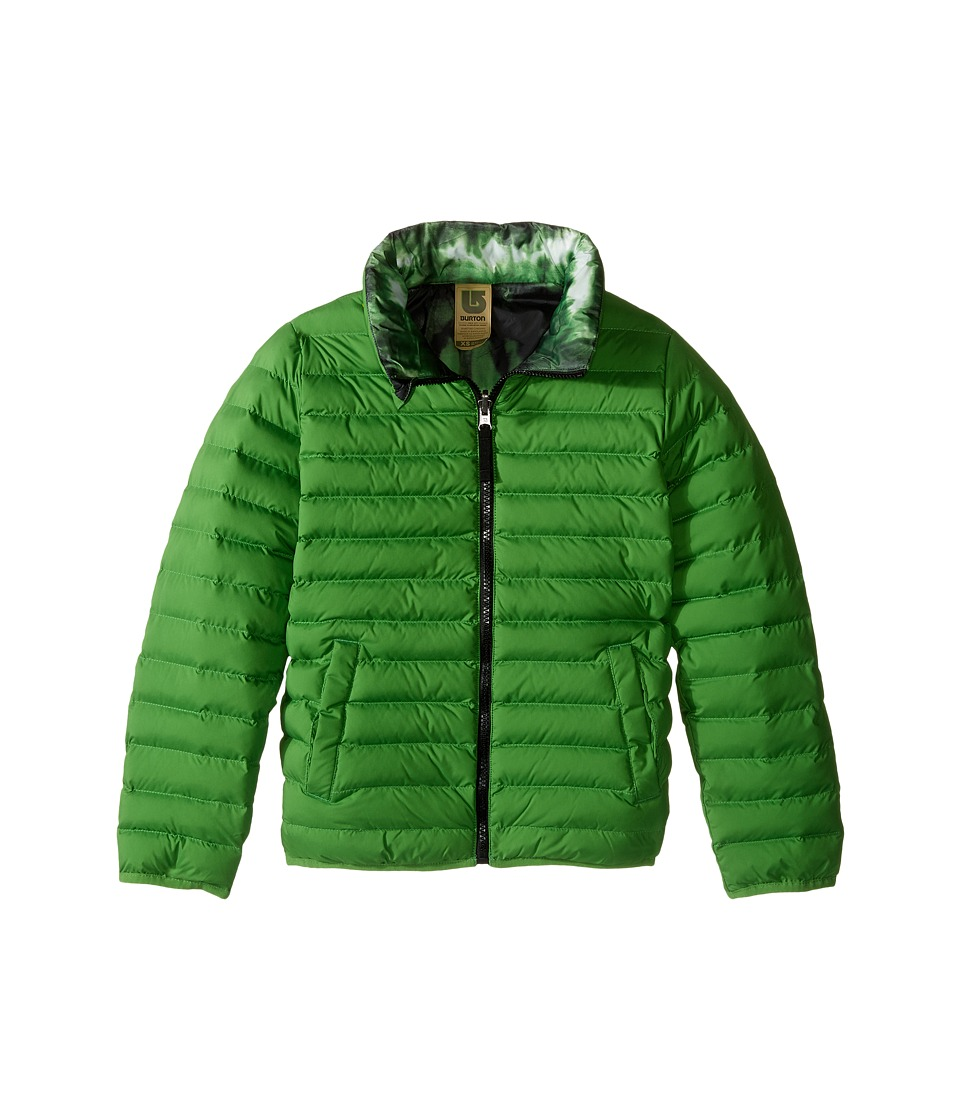 Burton Kids - Flex Puffy Jacket (Little Kids/Big Kids) (Slime/Slime Surf Stripe) Boy's Coat