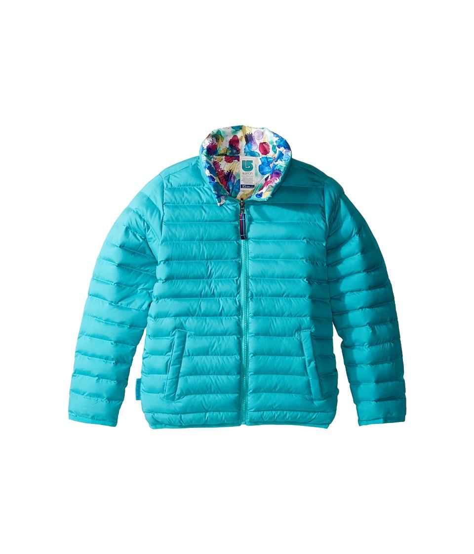 Burton Kids - Flex Puffy Jacket (Little Kids/Big Kids) (Everglade/Rainbow Drop) Boy's Coat
