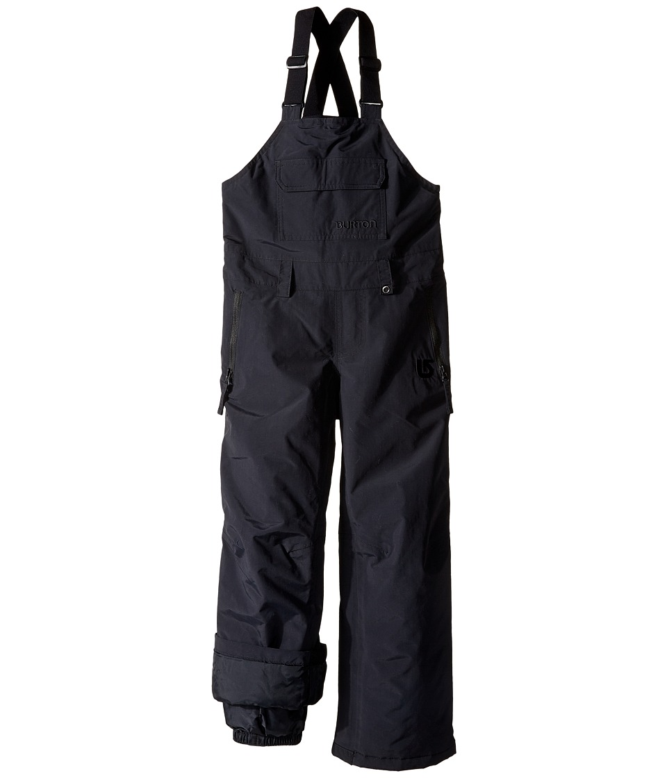 Burton Kids - Skylar Bib Pants (Little Kids/Big Kids) (True Black) Boy's Casual Pants