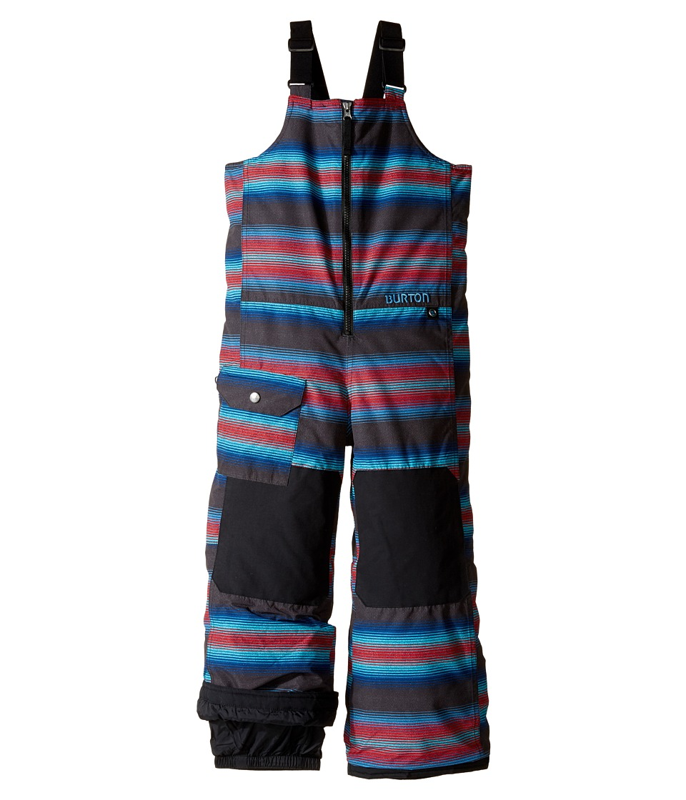 Burton Kids - Minishred Mavin Bib Pant (Toddler/Little Kids/Big Kids) (Seaside Stripe) Boy's Snow Bibs One Piece