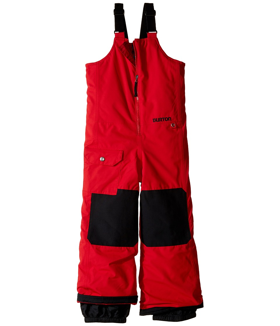 Burton Kids - Minishred Mavin Bib Pant (Toddler/Little Kids/Big Kids) (Process Red) Boy's Snow Bibs One Piece