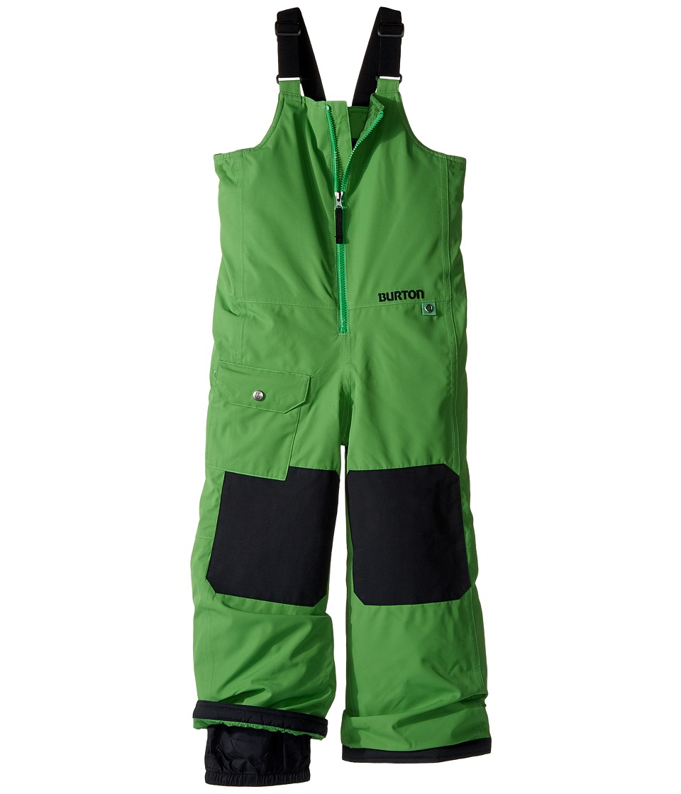Burton Kids - Minishred Mavin Bib Pant (Toddler/Little Kids/Big Kids) (Slime 1) Boy's Snow Bibs One Piece