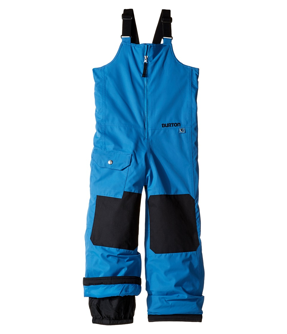 Burton Kids - Minishred Mavin Bib Pant (Toddler/Little Kids/Big Kids) (Glacier Blue) Boy's Snow Bibs One Piece