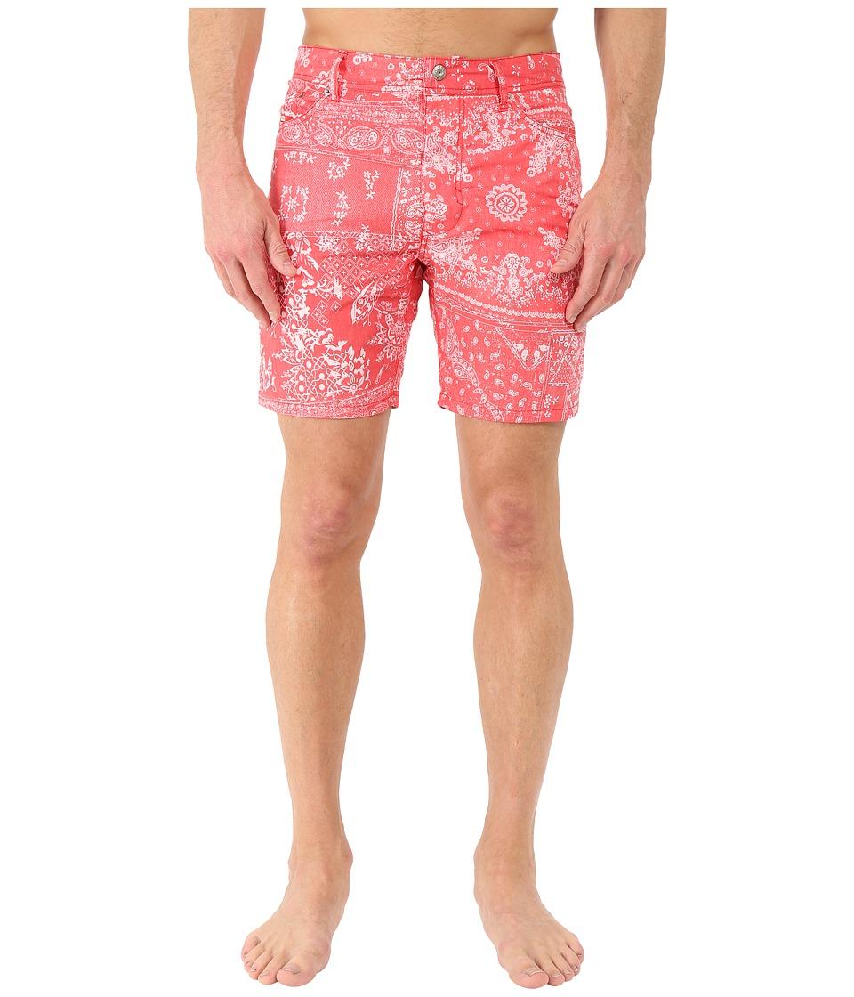 Diesel - Waykeeki-S Swim Boxer BAMG (Red) Men's Swimwear