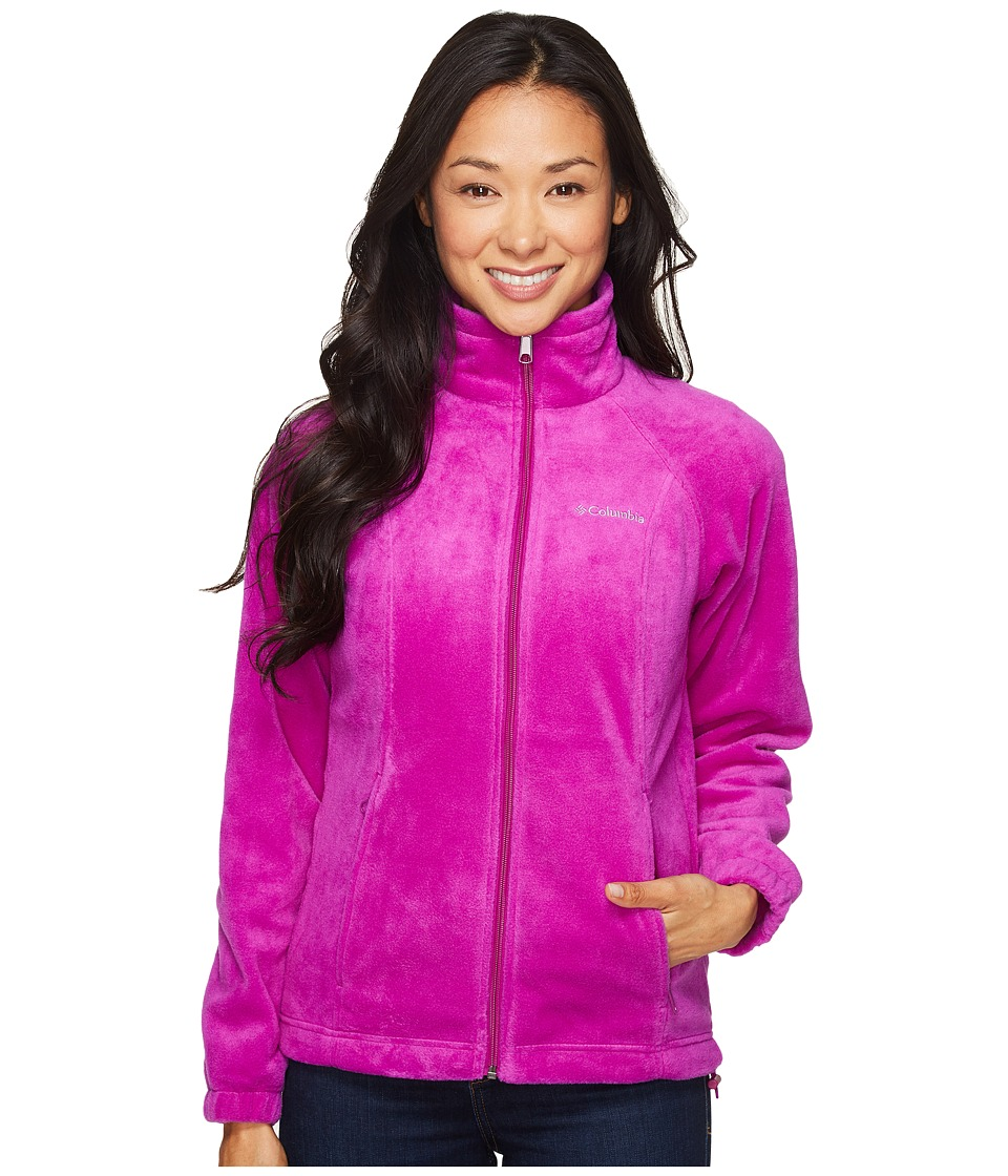 Columbia - Benton Springs Full Zip (Bright Plum) Women's Jacket