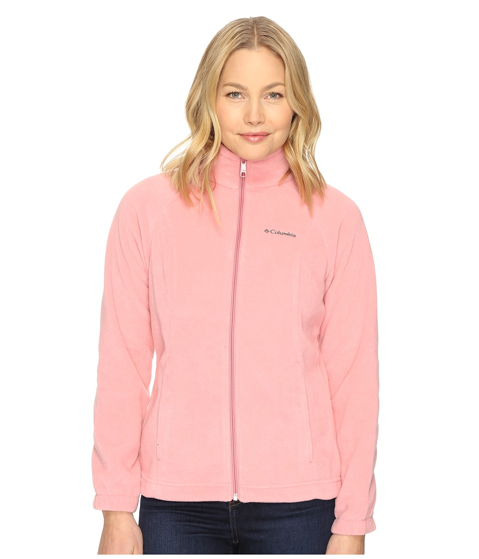 Columbia Benton Springs Full Zip (Canyon Rose) Women