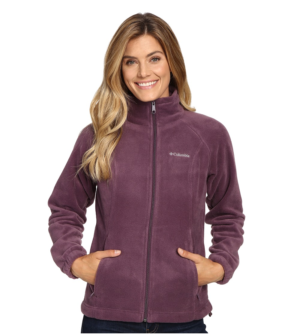 Columbia - Benton Springs Full Zip (Dusty Purple) Women's Jacket