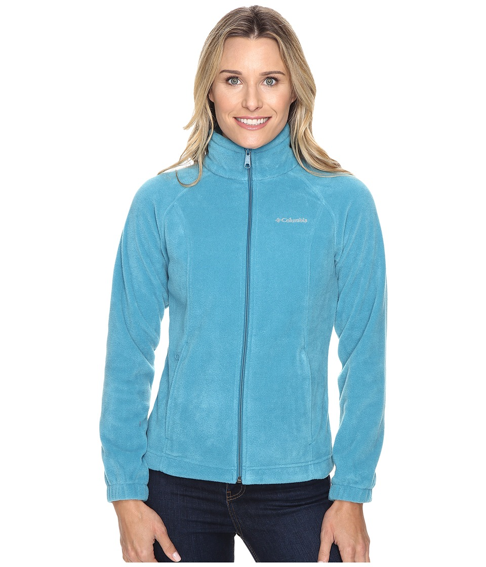 Columbia Benton Springs Full Zip (Deep Marine) Women