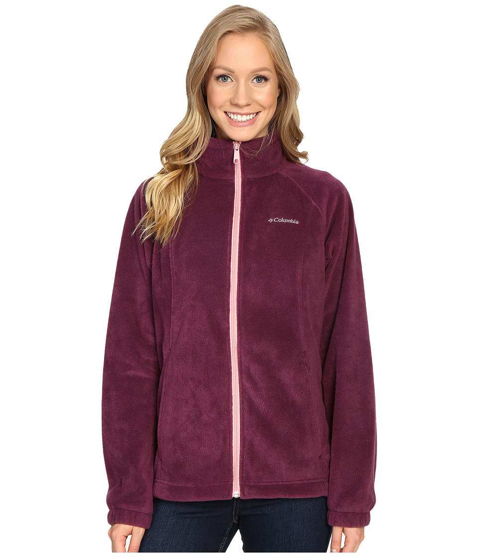 Columbia - Benton Springs Full Zip (Purple Dahlia/Rosewater) Women's Jacket