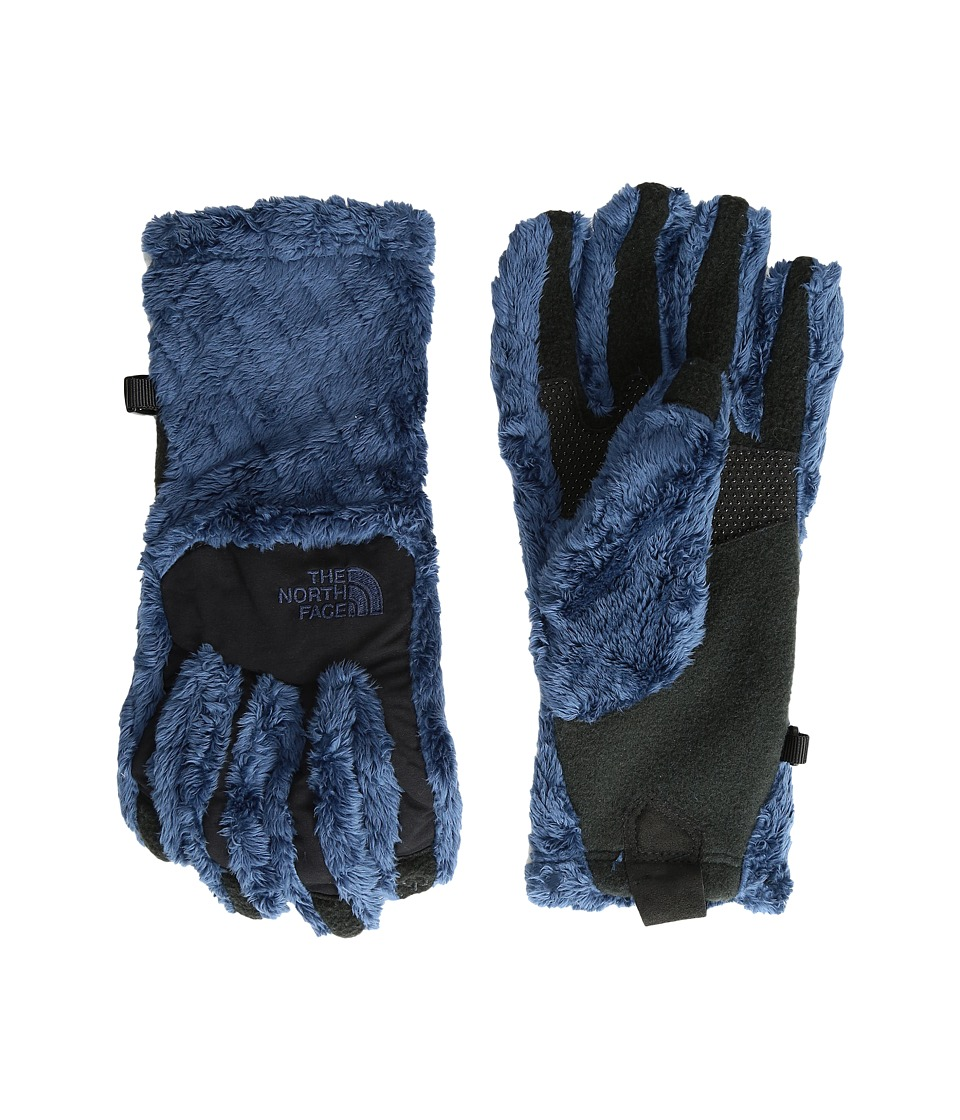 The North Face - Women's Denali Thermal Etip Glove (Shady Blue Basketweave Embossed) Extreme Cold Weather Gloves