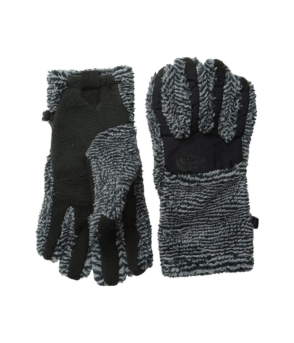 The North Face - Women's Denali Thermal Etip Glove (TNF Black/Mid Grey Stripe) Extreme Cold Weather Gloves