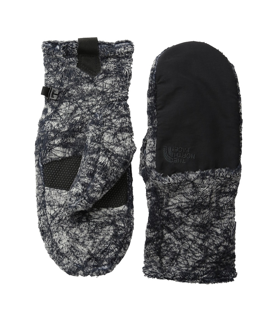 The North Face Denali Thermal Mitt (TNF Black Marble Print (Prior Season)) Extreme Cold Weather Gloves
