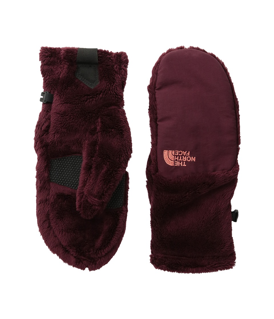 The North Face Denali Thermal Mitt (Deep Garnet Red (Prior Season)) Extreme Cold Weather Gloves