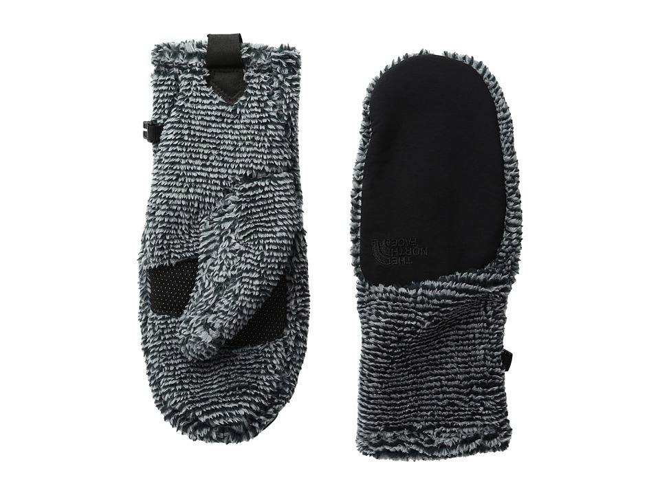 The North Face - Denali Thermal Mitt (TNF Black/Mid Grey Spruce) Extreme Cold Weather Gloves