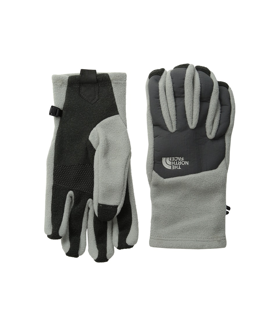 The North Face - Men's Denali Etip Glove (Moon Mist Grey/Asphalt Grey) Extreme Cold Weather Gloves