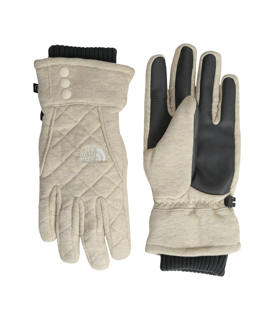 The North Face - Caroluna Etip Glove (TNF Oatmeal Heather) Extreme Cold Weather Gloves