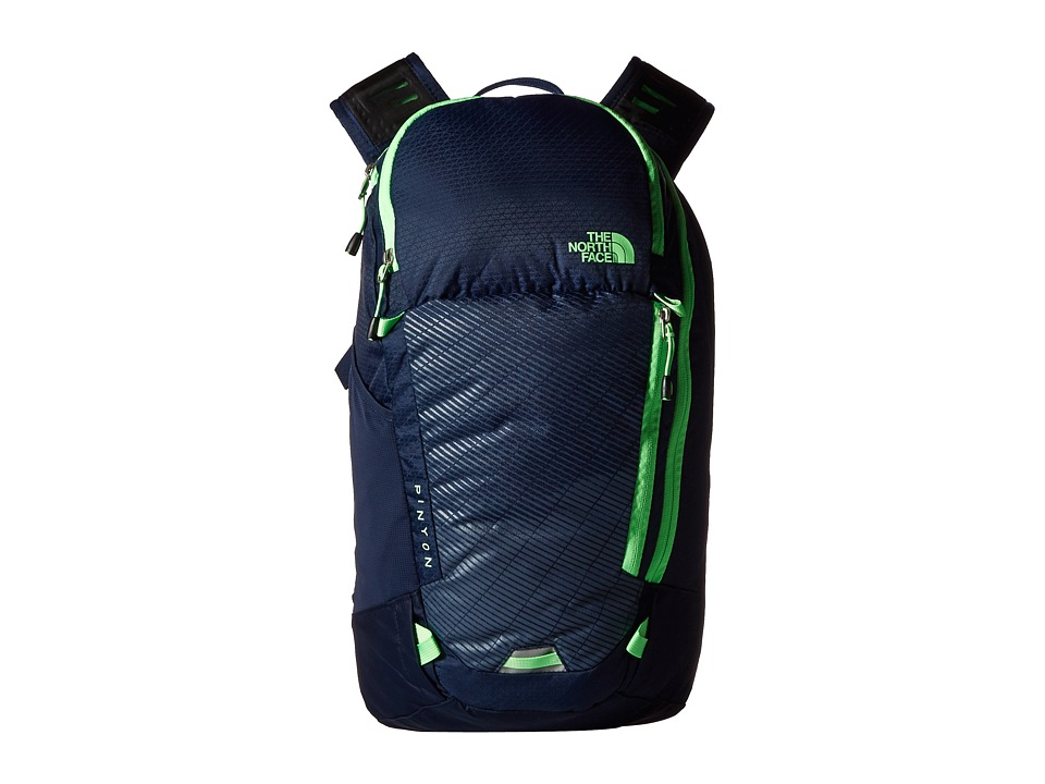 The North Face - Pinyon (Cosmic Blue/Electric Mint Green) Backpack Bags