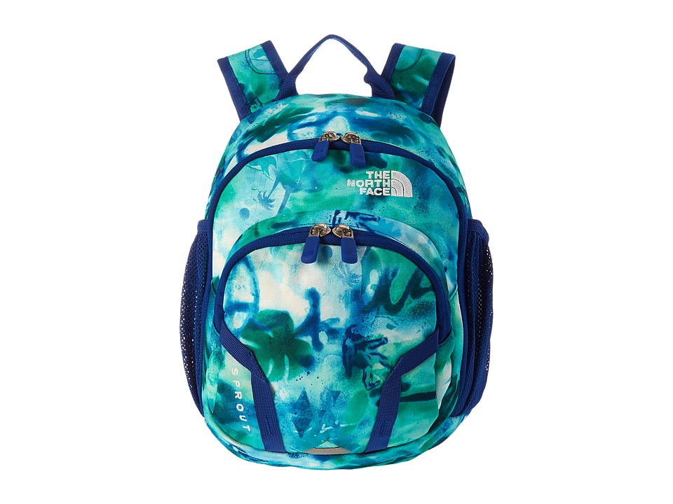The North Face - Sprout (Toddler/Little Kid) (Honor Blue Graffiti Mash Print) Backpack Bags