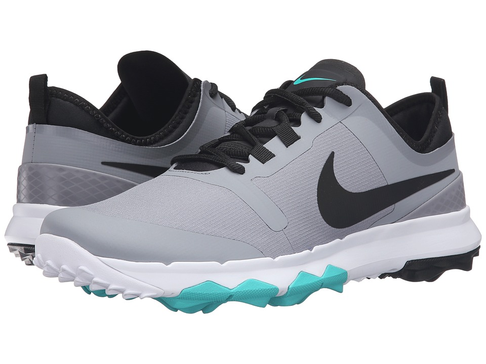 Nike Golf - FI Impact 2 (Stealth/Clear Jade/White/Black) Men's Golf Shoes
