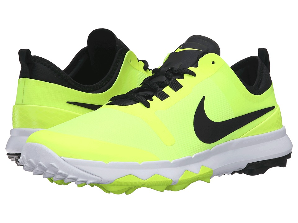 Nike Golf - FI Impact 2 (Volt/White/Black) Men's Golf Shoes