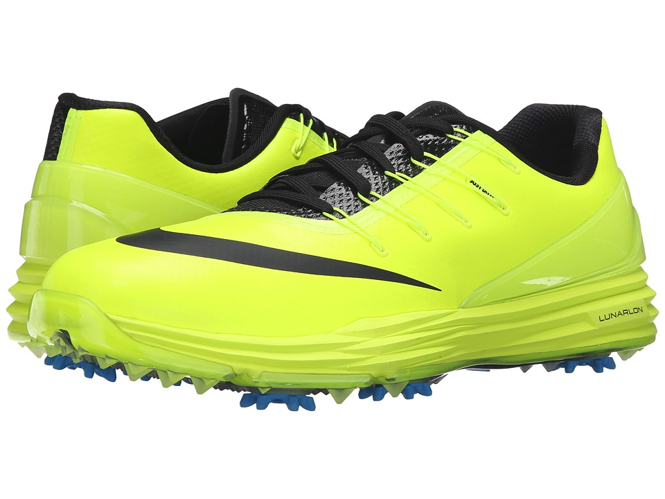 Nike Golf - Lunar Control 4 (Volt/Photo Blue/Black) Men's...