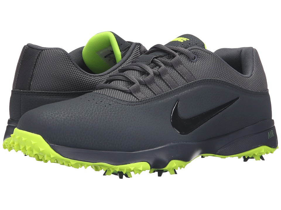 Nike Golf - Air Rival 4 (Anthracite/Dark Grey/Volt/Black) Men's Golf Shoes