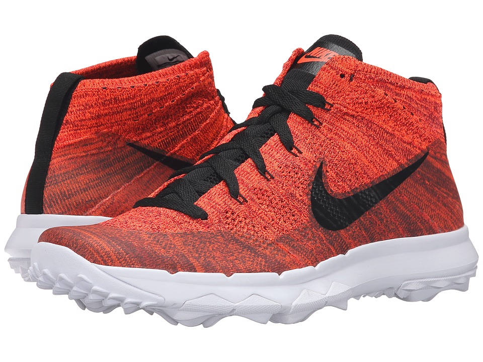 Nike Golf - FI Flyknit Chukka (Total Crimson/University Red/Team Red/Black) Men's Golf Shoes