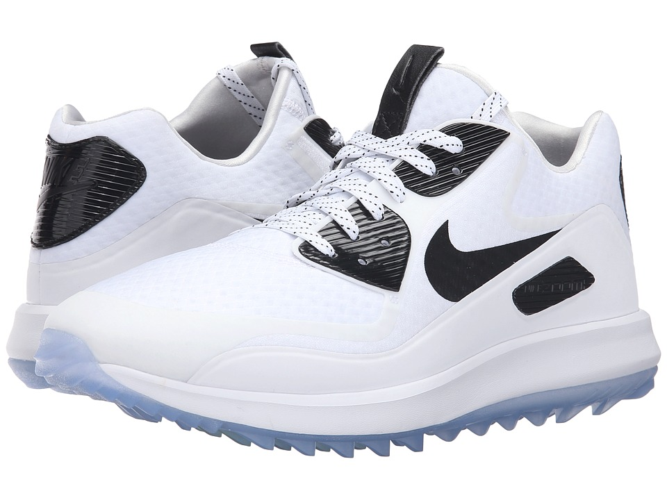 Nike Golf - Air Zoom 90 IT (White/Volt/Black) Men's Golf Shoes