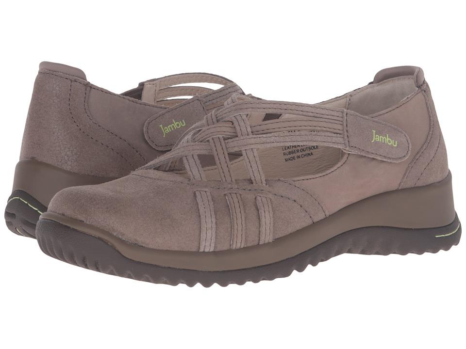 Jambu - Montana (Khaki) Women's Slip on Shoes
