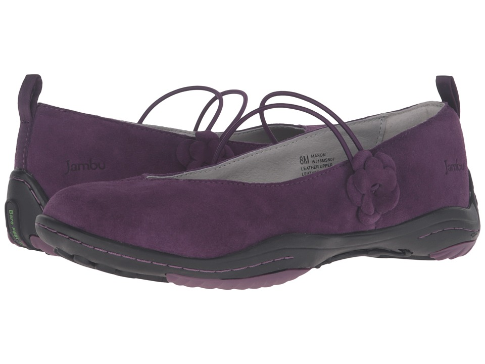 Jambu - Mason (Purple) Women's Slip on Shoes