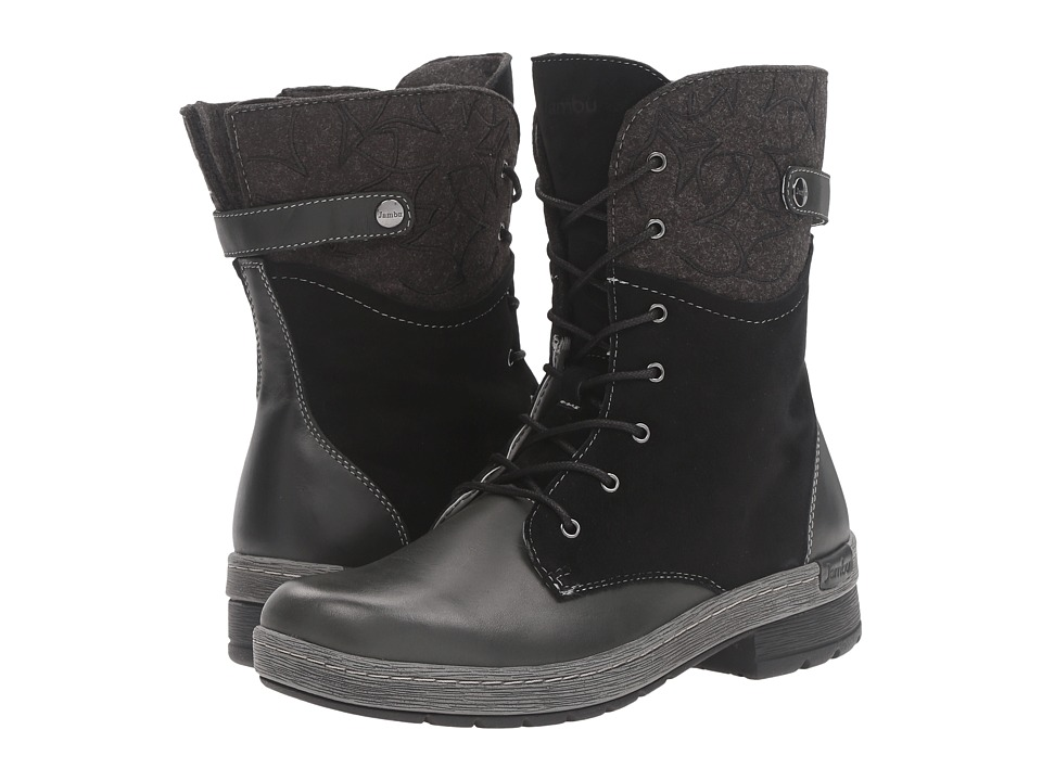 Jambu - Hemlock (Black) Women's Pull-on Boots