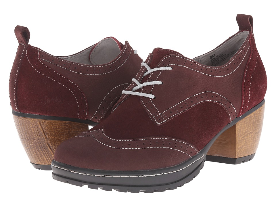 Jambu - San Fran (Wine) Women's Clog Shoes