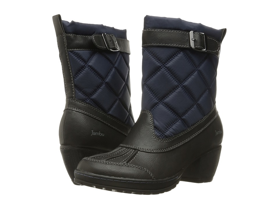 Jambu - Dover (Navy/Black) Women's Pull-on Boots