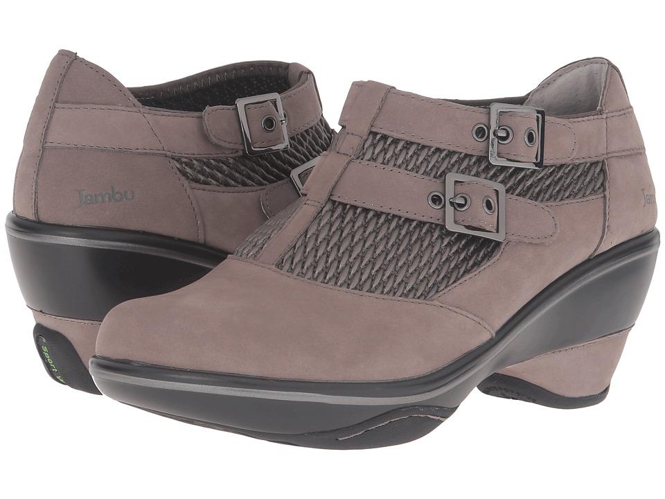 Jambu - Sylvie (Grey) Women's Wedge Shoes